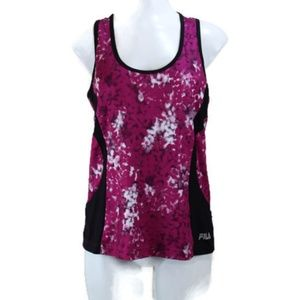 Fila Sport Racerback Workout Tank Top w/MP3 pocket
